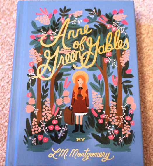 Anne of Green Gables with cover designed by Anna Bond