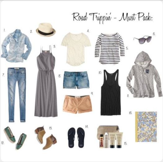 Pinterest packing guides provide some great inspiration! I've picked up some awesome ideas from these posts.