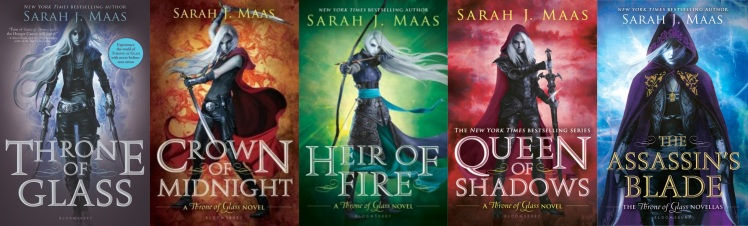 throne of glass series